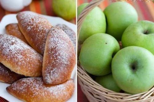Пирожки с яблоками из творожного теста в духовке. Творожные пирожки с яблочной начинкой в духовке