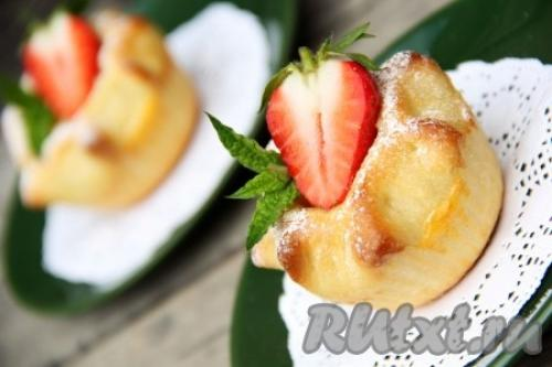 Пирожки с творогом и яблоками. Пирожки с яблоками и творогом