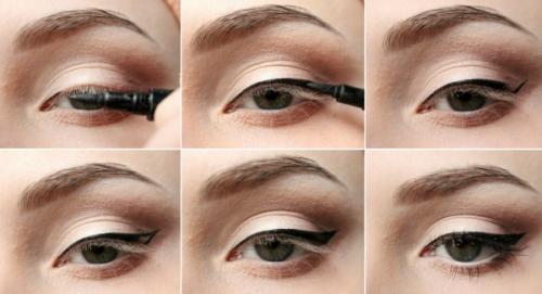 Как сделать глаза круглыми и большими. Как сделать глаза большими и выразительными с помощью стрелок