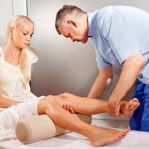 Как лечат мениск упражнения. Лечение мениска без операции