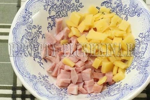 Красивые слойки с ветчиной и сыром. Слойки с ветчиной и сыром из слоеного теста