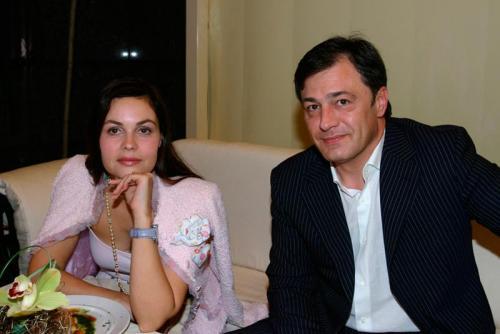 Душан Петрович. Екатерина Андреева и Душан Перович