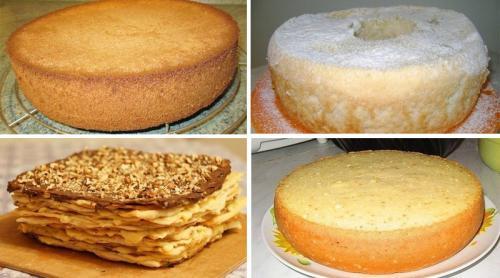 Тонкие коржи для торта, как в магазине рецепт. Лучшие коржи для тортов. 6 рецептов приготовления!