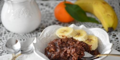 Овсянка с бананом на завтрак рецепт фитнес завтрак. Рецепты вкусных завтраков из овсяной каши с бананом