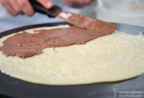 Пирог с шоколадной пастой. Дрожжевой пирог «Звезда» с шоколадной пастой