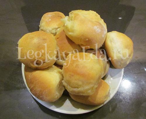 Пирожки с картошкой в духовке рецепты быстро и вкусно. Быстрое тесто на пирожки в духовке с сухими дрожжами на молоке