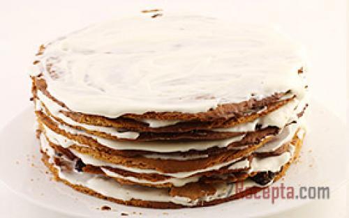 Торт медовик со сметанным кремом. Торт «Медовик» со сметанным кремом