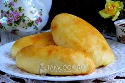 Пирожки с картошкой и грибами. Пирожки с картошкой и грибами в духовке