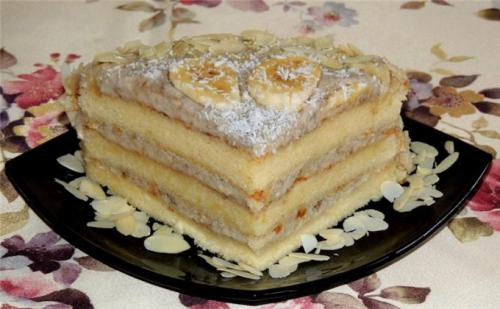 Банановый крем для торта. Совет 1: Банановый крем для бисквитного торта