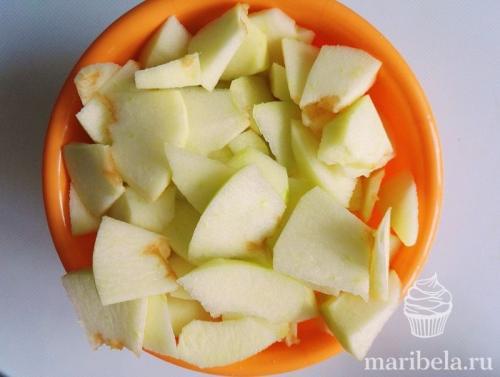 Яблочный пирог-шарлотка. Пирог Шарлотка