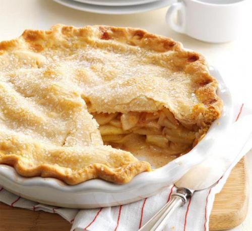Самый простой рецепт яблочного пирога. Классический яблочный пирог