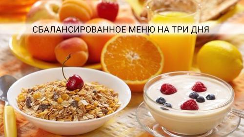 Правильное питание меню на неделю 1300 калорий g