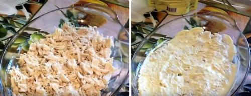 Рецепты салатов из куриной грудки. Салат с куриной грудкой и корейской морковкой: рецепт слоями