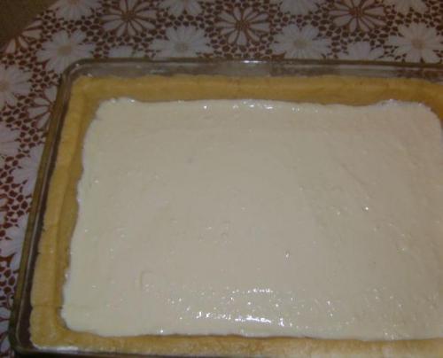 Королевский пирог с яблоками и творогом