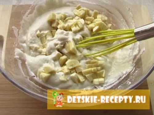 Банановые оладьи для ребенка 1 год. Оладьи пышные для детей (без яиц) с бананом — фото рецепт