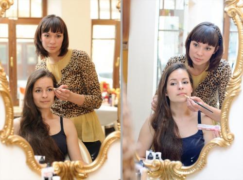"""Урок по макияжу для себя. Как проходит индивидуальный курс """"Макияж для себя""""? Пример с Ксенией"""