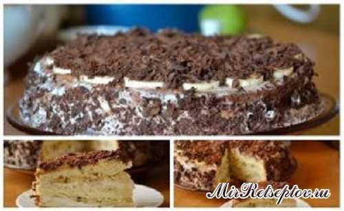 """Рецепт торт банановое наслаждение. Торт """"Банановое наслаждение"""""""