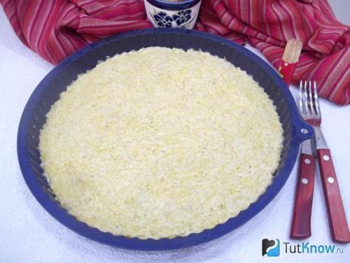 Диетический пирог из кабачков. Как приготовить диетическое кабачковое тесто