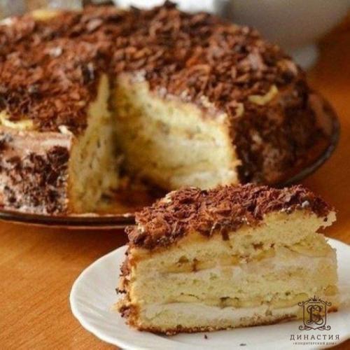 Торт банановое чудо. Рецепт торта «Бисквитное чудо»