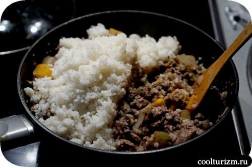 Запеканка из куриной печени с рисом. Запеканка из печени с рисом