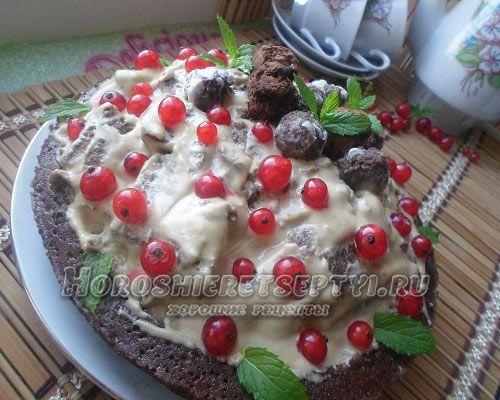 Торт в микроволновке на сметане. Рецепт 6: быстрый торт в микроволновке (подробно с фото)