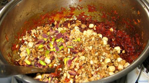 Джезерье из граната рецепт. Джезерье (Cezerye) турецкая сладость