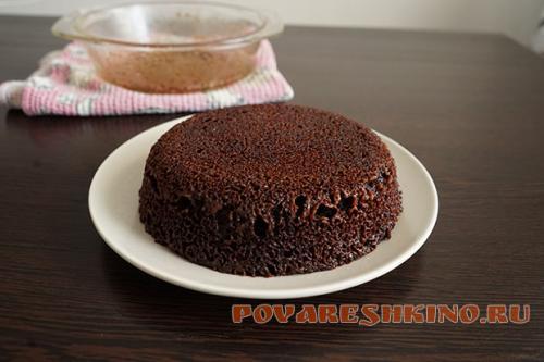 Тортик в микроволновке за 5 минут. Шоколадный торт в микроволновке за 5 минут!