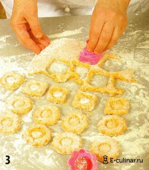 Печенье рыжики рецепт. Печенье «Рыжик»
