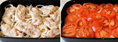 Мясо по-французски с картошкой диетическое. Вкусный рецепт картошки по-французски с курицей