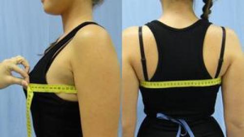Обхват грудной клетки, как мерить у женщин. Средства для снятия мерок