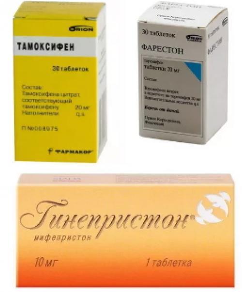 Таблетки при мастопатии название. Гормональные препараты