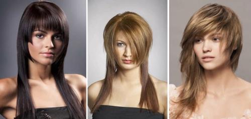 Стрижки для женщин после 40 лет с круглым лицом. Стрижки на длинные волосы для круглого лица