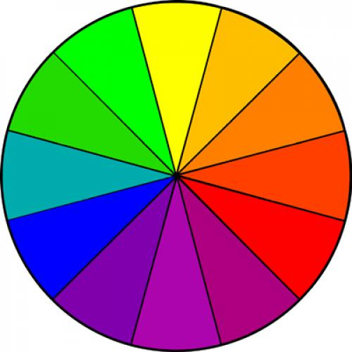 Цветовой круг сочетание цветов в макияже. Урок цвета в макияже