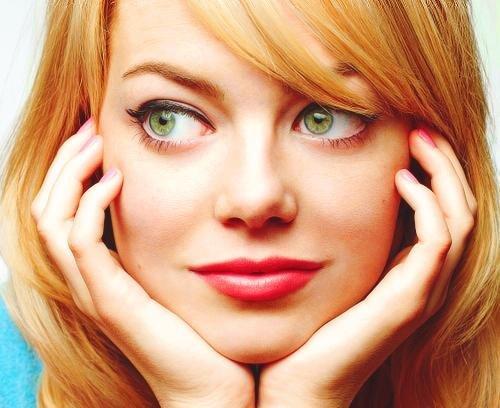 Макияж для голубых глаз и рыжих волос. Какой макияж подходит рыжим? 01
