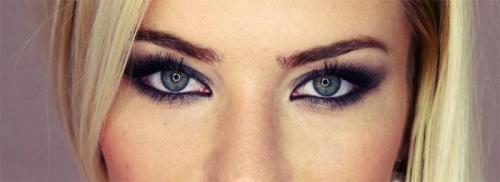 Макияж для серо-голубых глаз. Разнообразие макияжа для серо-голубых глаз