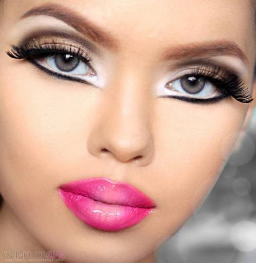 Кукольный макияж, как сделать. Идеи, как можно сделать красивый кукольный макияж: фотогалерея