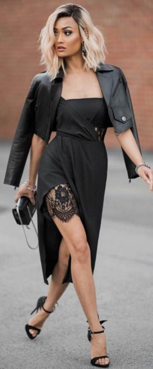 Макияж к черному платью. Макияж под черное платье: ваш королевский образ