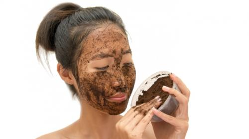 Как сделать скраб из кофе для лица. Скраб для лица из кофе