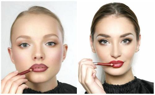 Как красить губы. Как накрасить губы карандашом без помады