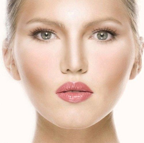 Макияж для полного лица с двойным подбородком. Правила идеального макияжа для полного лица