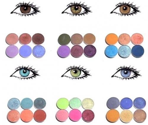 Красивый макияж глаз (фото)