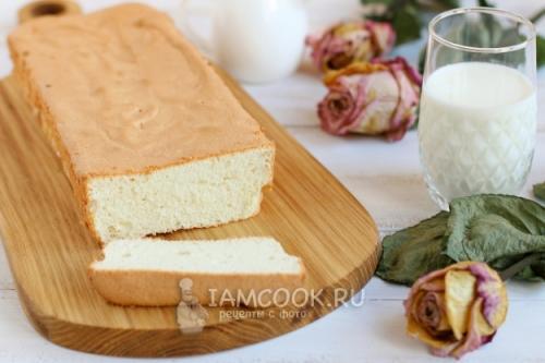 Торт Ангельский бисквит рецепт. Ангельский бисквит