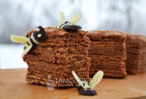 Торт медовик Пчелка. Торт медовик «Пчелка»