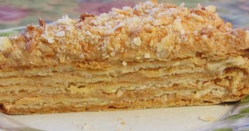 Торт наполеон крем. Заварной крем для «Наполеона» — свежие вариации
