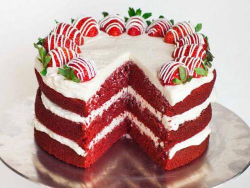Как украсить красный БАРХАТ торт. Как можно украсить торт