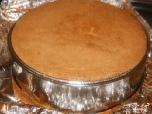 Бисквит для торта Лимонный. Лимонный бисквитный торт