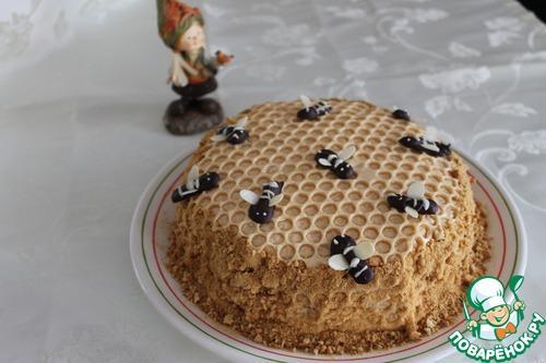 Украшение торта медовик. Как я украшаю Медовик.