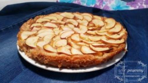 Крамбл яблочный веган. Рецепт яблочного крамбла для веганов и в Пост