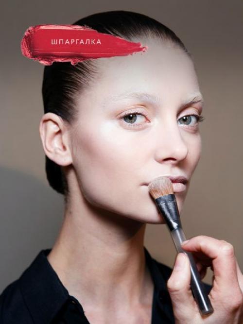 Макияж, как делать. Как правильно наносить макияж на лицо?