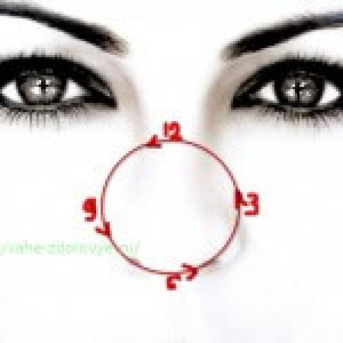 Комплекс упражнений для глаз. Гимнастика для глаз, упражнения для улучшения зрения